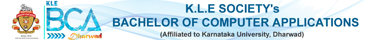 KLE Society's Bachelor of Computer Application(BCA),Dharwad